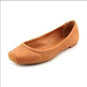 Lucky Brand | Santana Flats Brown Tan Leather